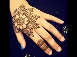 easy floral mehndi designs mehandi pattern by