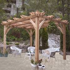 Pergola Kits Cedar by Outdoor Living Today Bz1212 12 Ft X 12 Ft Cedar Breeze Pergola