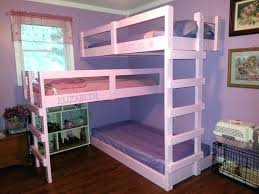 Half Bunk Bed Half Loft Bed Loft Bed Loft Bed Wood Proportionfit Info
