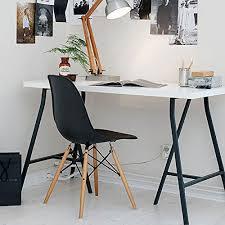 Trestle Computer Desk Ikea White Computer Desk 47x24 Inch Linnmon Table Top And 2