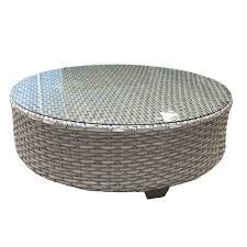 4 piece outdoor furniture set grey wicker patio furniture