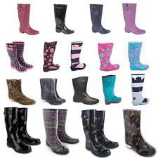 womens wellington boots size 9 wide fit wellies s shoes ebay