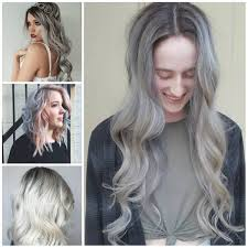 silver hair gorgeous silver hair color ideas for 2017 hairstyles 2018 new