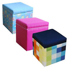 love this multi color storage ottoman from target com i u0027d stack 2