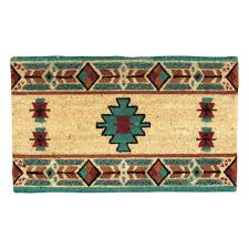 western star home decor southwest rugs hopi coir doormat lone star western decor