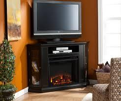 sleek fireplace entertainment center costco tv stands sears black