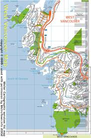 Road Map Of Canada by Map Of Horse Shoe Bay Bc Ferries Terminal And Adjoining Area Of