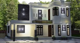 1850 square feet double floor contemporary home designs