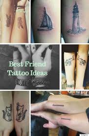 best friend tattoos for you and your partner in crime
