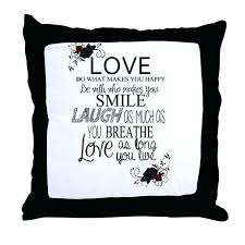 pillows with quotes new pillows with quotes or love throw pillow 76 throw pillows with