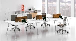bureau poste design moderne éaire open bureau poste de travail cloison de