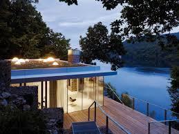 Small Lake House by Lake House Lhvh Architekten Archdaily
