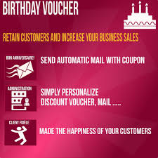 happy birthday sending coupon automatic way prestashop addons
