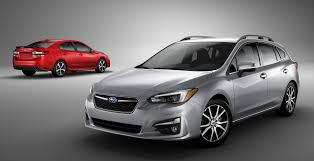 impreza subaru 2017 subaru impreza sedan and hatch go live in ny