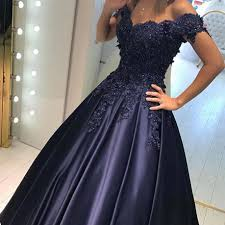 formal dresses lace shoulder prom dresses evening gowns 2018