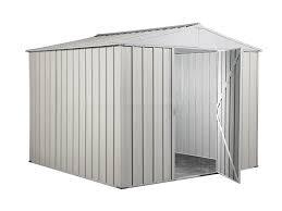 casetta giardino chicco casette box porta attrezzi da giardino in metallo zincato cm