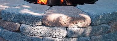 Stone Fire Pit Kit by Stone Fire Pit Kits From Belgard Country Manor Wood Burning Fire Pits