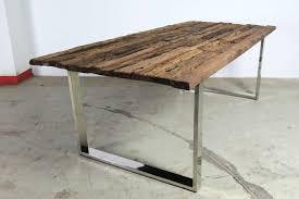 Schreibtisch Kufen Treibholz Esstisch Mit Kufen 220x100cm Unikat