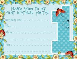 kids birthday invite template birthday invitations template free