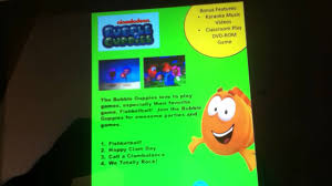 bubble guppies fishketball back cover youtube