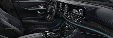 Benz E Class Interior What Does The New 2017 Mercedes E Class Interior Look Like