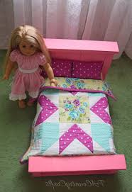 how to make american girl doll bed american girl doll bed and quilt superb american girl doll quilt
