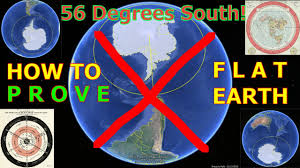 Correct World Map by Flat Earth Proven By Sailing Around S 56 Latitude Gleason Map
