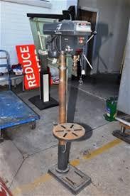 Pedestal Drill Pedestal Drill Press Ryobi Industrial Model Dp263 16 Speed Belt