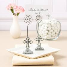 cross place card holders cross photo holders decorative place