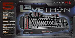 amazon com azio levetron mech5 mechanical gaming keyboard with
