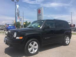 blue jeep patriot 2014 jeep patriot black for sale barrie on g d coates used car