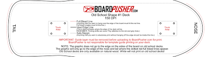Indesign Template Free Deck Boardpusher Help Design Tips Design Your Own Skateboard