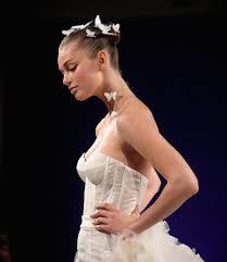 latest bridal hairstyle 2016 hair and makeup at bridal fashion week spring 2016 popsugar beauty