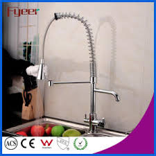 kitchen faucet filter china fyeer pull out spray kitchen faucet with water flow filter