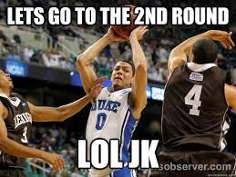 Unc Basketball Meme - duke legend christian laettner emasculates duke coach k with