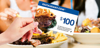 discount restaurant gift cards 1 sale a day daily deal restaurant 100 gift card for only