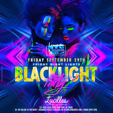 large black light posters black light party lucille s tickets lucille s new york ny