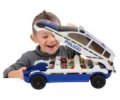 carry car police play sets mechanical shop dickietoys de