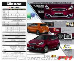 nissan almera cebu price mitsubishi motors philippines refreshes mirage for 2016 w