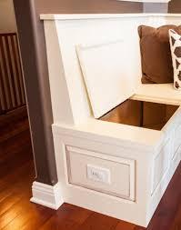 Storage Ottoman Bench Seat Kitchen Storage Ottoman Bench Breakfast Nook With Storage