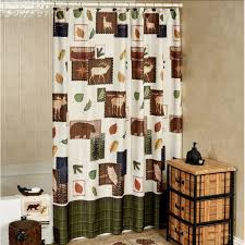 Bath Shower Curtains And Accessories Woodland Critters Gotta Go Shower Curtain And Bath Accessories