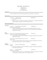 journalism resume examples resume temple university resume cover letter sample housekeeper therapist resume resume cv cover letter