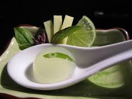 molecular gastronomy basil mule nourriture pinterest