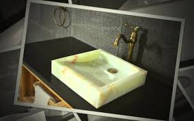 Onyx Sink White Onyx Vessel Sink 16