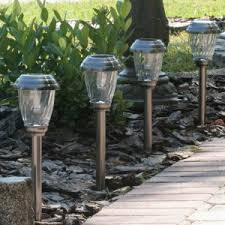 landscape solar lights not working remote panel bright