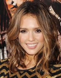medium length hairstyles brown hair wavy shoulder length hairstyles medium shaggy hair layered