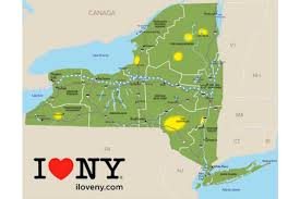 map new york map here s where the fall leaves are changing in new york state