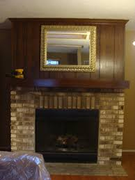 fabtwigs wood paneling fireplace makeover how to fill grooves
