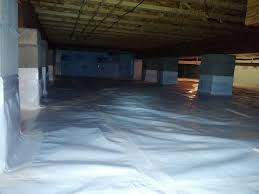 crawl space vapor barrier