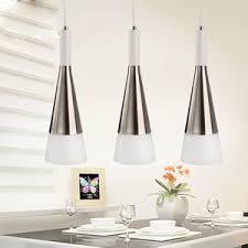 Bar Pendant Lighting Silver Shade Wrought Iron Material Modern Kitchen Pendant Lights